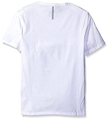 Calvin Klein Jeans Men's Short Sleeve Cityscape Blocks V-Neck T-Shirt