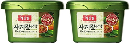 Haechandle CJ Soybean Paste (재래식된장) (Seasoned Soybean Paste (쌈장), 2 Pack)