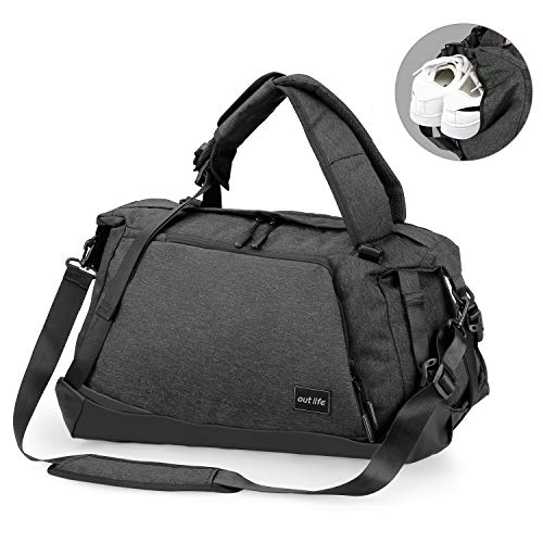 OUTLIFE Foldable Luggage Bag Weekender Compartment product image