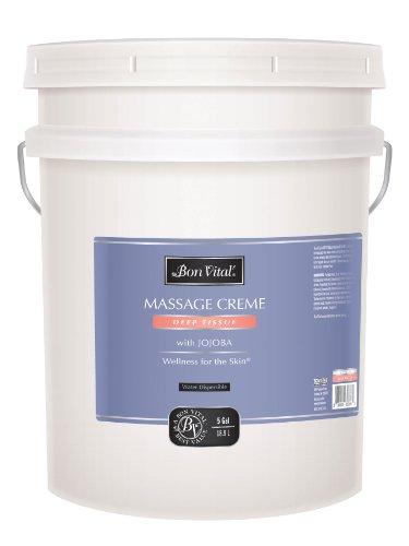 Bon Vital Deep Tissue Massage Creme, 5 Gallon Pail by Bon Vital (Image #1)'
