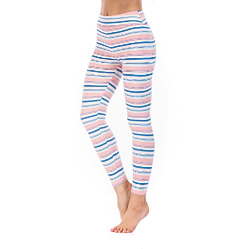 a7a2cf03874a5 Floral Leggings High Waist Buttery Soft Printed Ankle Leggings Sports Yoga  Workout Stretch Pants