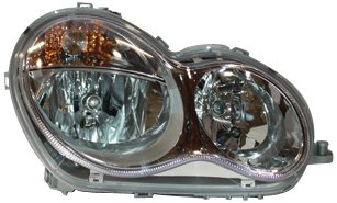 TYC 20-6979-00 Mercedes Benz Passenger Side Headlight Assembly