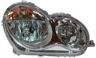 TYC 20-6979-00 Mercedes Benz Passenger Side Headlight Assembly (Headlight Assembly C280)