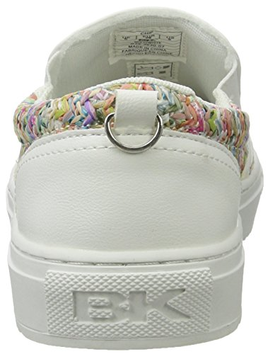 British Knights Chip, Mocasines para Mujer Weiß (multi/white)