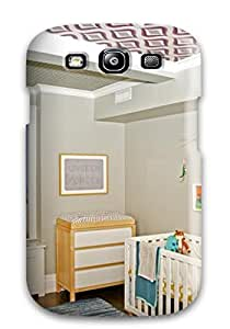 Kevin Charlie Albright's Shop Premium Case With Scratch-resistant/ Neutral Nursery Withed Ceiling Case Cover For Galaxy S3 8247473K38749402