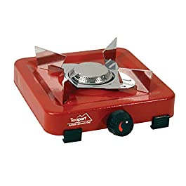 Texsport Compact Single Burner Propane Stove for Outdoor Camping Backpacking Hiking