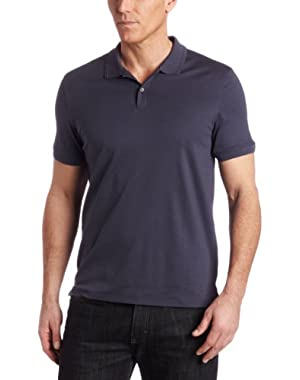 Calvin Klein Men's Short-Sleeve Solid Polo Shirt