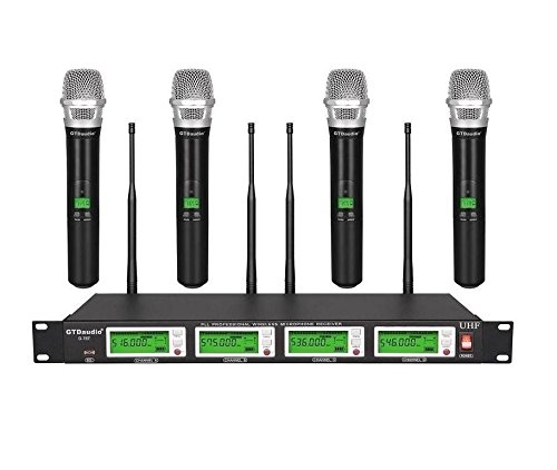 GTD Audio G-787H UHF Diversity Wireless Microphone System by GTD Audio