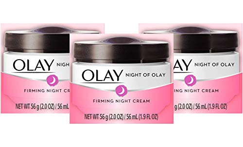 Night Cream by Olay Night Firming Cream 1.9 Ounce (56ml) (3 Pack)