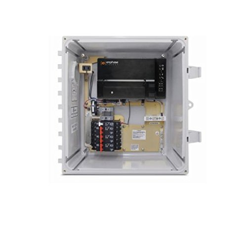 ENPHASE X-IQ-AM1-240-B M AC COMBINER BOX WITH IQ ENVOY GATEWAY 60A 3X 20A BREAKERS