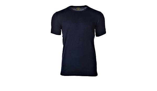 Polo Ralph Lauren Camiseta de Hombre, Cuello Redondo, algodón, Liso con Logo - Navy: XX-Large: Amazon.es: Ropa y accesorios