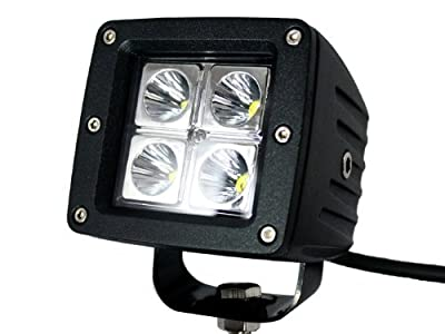 TMS® 4x Dually Cube 16w Cree LED Spot Fog Driving Trail Light for Off Road Bar Jeep Truck