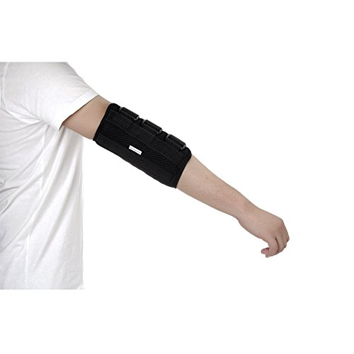 Pediatric Elbow Splint Immobilizer Brace for Kid Youth Arm Fracture Stabilizer, Cubital Tunnel & Ulnar Nerve Protector (S)