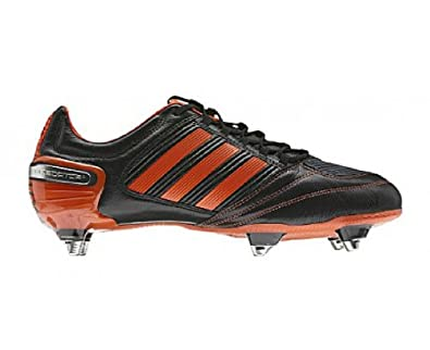 new style 94b04 2d88a ADIDAS Predator RX XTRX SG Men s Rugby Boots, Black Orange, UK12   Amazon.co.uk  Shoes   Bags