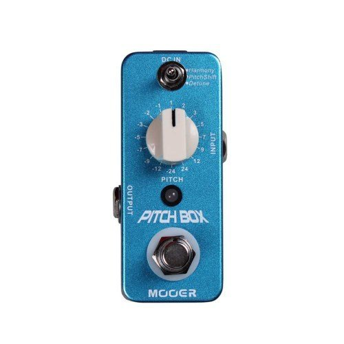 Mooer Pitch Box Harmony /Pitch Shifting Guitar Effect Pedal w/Patch Cable by Mooer