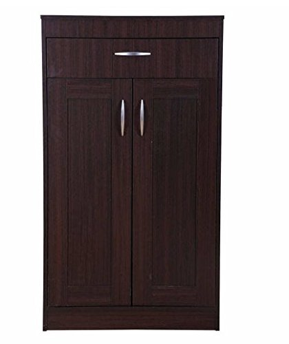 Shilpi Sheesham Wood Multipurpose Storage Wooden Almirah Cabinet Wardrobe Drawers