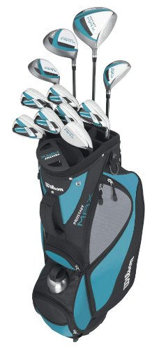 Wilson Prostaff Max 12-Piece Package Set (Women's, Right-Hand), Outdoor Stuffs
