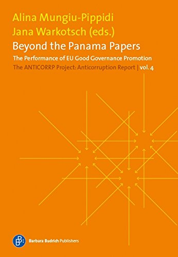 Read Online Beyond the Panama Papers: The ANTICORRP Project: Anticorruption Report 4 (The Anticorruption Report) pdf