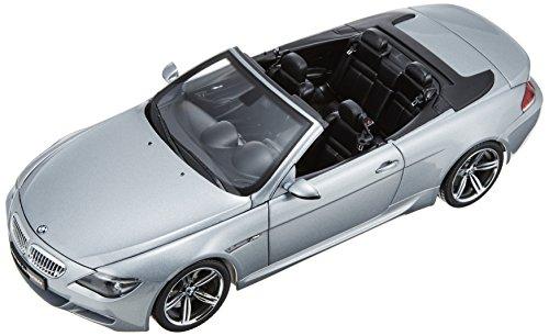 1/18 BMW M6 コンバーチブル(シルバー) K08704S
