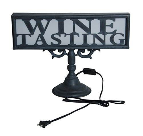 Retro French-inspired Wine Tasting Table Lamp