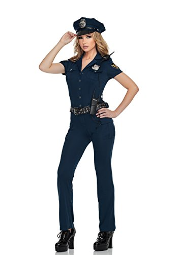 Mystery House Women's NY Cop, Navy, Small (Adult Cop Belt)