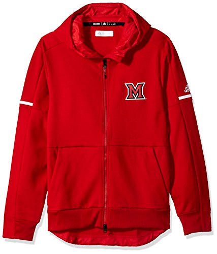 NCAA Miami of Ohio RedHawks Men's Sideline Squad ID Jacket, Power Red, Large by OuterStuff