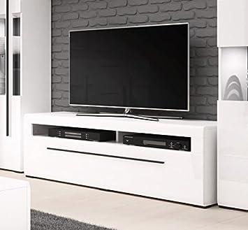 Unbekannt Lowboard Tv Element 54277 Anrichte Kommode Weiss Weiss