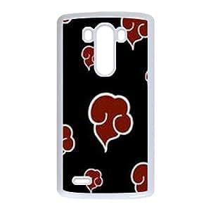 LG G3 Phone Cases White Naruto BOK495568