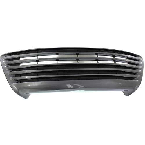 New Front Bumper Cover Grille For 2015-2017 Toyota Camry Bar Type, LE/XLE/Hybrid Models, Plastic TO1036158 5311206260 ()