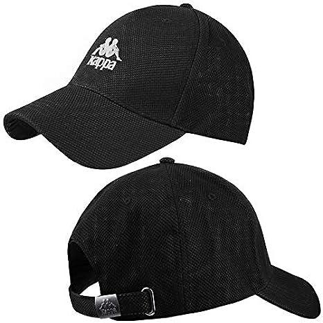 A proposito eccezione Vegetazione  Kappa Authentic Aonroe Cap in Black: Amazon.co.uk: Clothing