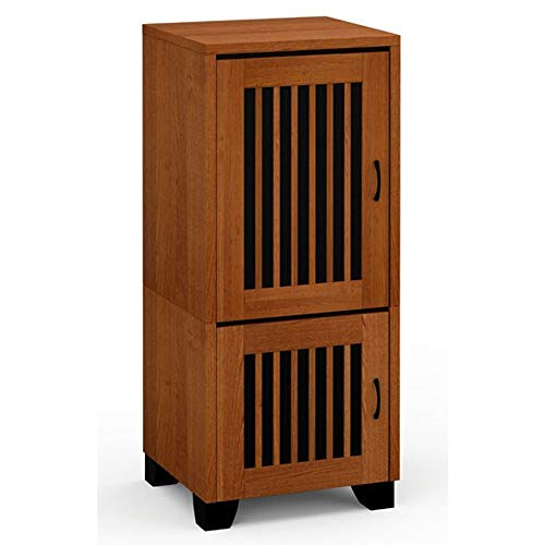 Salamander Sonoma 517 Single-Width Rack Mount AV Cabinet in Cherry Antique