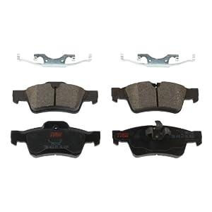 TRW TPC1122 Premium Ceramic Rear Disc Brake Pad Set