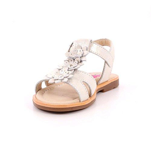 Platino Con Fiori Sandalo Mainapps Balocchi Pelle In WHeD2Y9IE
