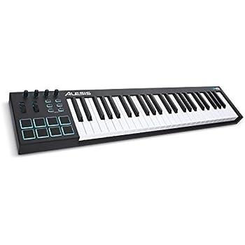 m audio oxygen 49 mkiv 49 key usb midi keyboard drum pad controller 8 pads 8. Black Bedroom Furniture Sets. Home Design Ideas