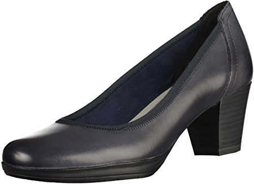 Marco Tozzi22 22420 28 805 - Zapatos de Tacón Mujer Blau(Navy)