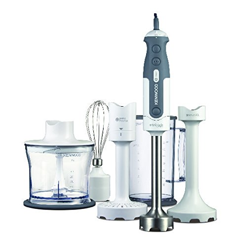 Kenwood 0W22111014 Triblade HDP406WH Hand Blender - White/Silver