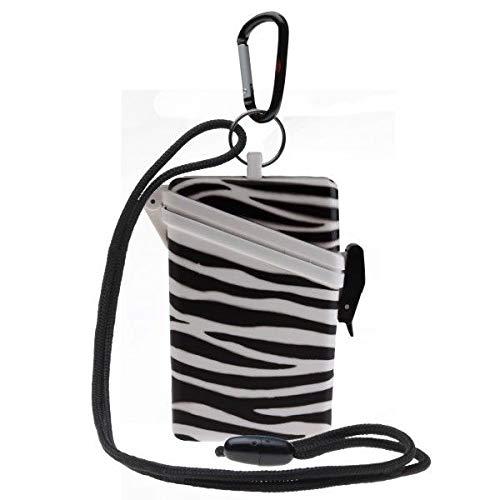 Witz Surf Safe - Witz Animal Surf Safe Waterproof Case, White Zebra