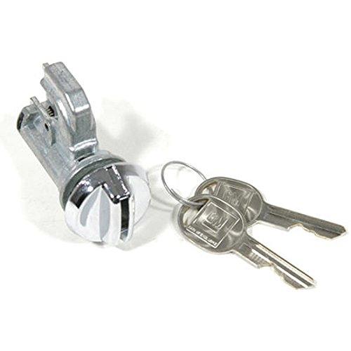 Eckler's Premier Quality Products 55-195095 - El Camino Glove Box Lock, - Box Glove Camino El