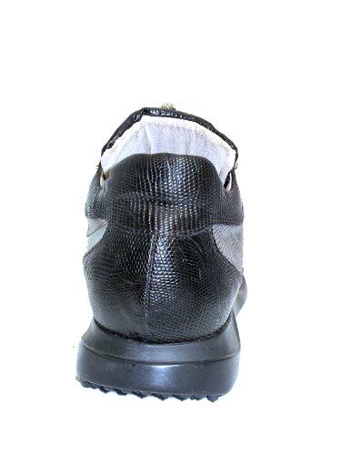 Mauri Mens Struts Krokodil Sneakers 8900 Svart