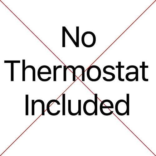 Thermostat Noir Avec /Écran Tactile 5.0m/² Kit de Tapis de Chauffage Au Sol /Électrique Boite Rouge de 200 W Nassboards Premium Pro