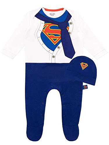 DC Comics Tutina da Notte e Cappello per Bambino Superman 1