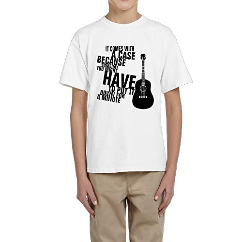 Guitar Kids Ringer T-shirt - 6