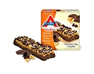 Atkins Day Break Chocolate Chip Crisp - 5 x 1.2 Oz Bars (Pack of 3)