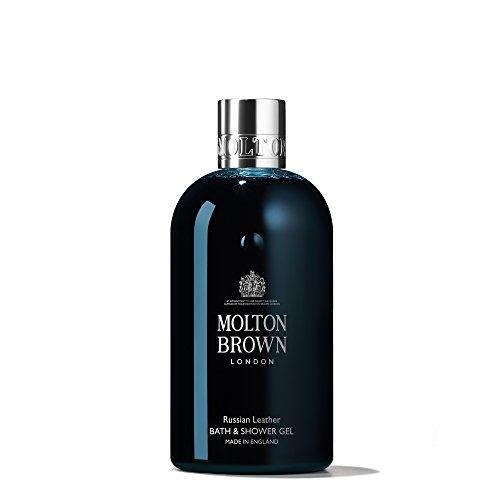 Molton Brown Bath & Shower Gel, Russian Leather, 10 oz.