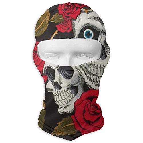 LoveBea Balaclava Halloween Skull Full Face Masks Ski Sports Cap Motorcycle Hood for Cycling Sports -