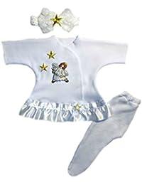Preemie Dresses -Jacqui's Baby Girls' Joyful Angel Baby Dress
