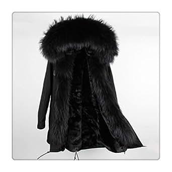 Amazon.com: 2018 Winter Jacket Women New Long Parka Real