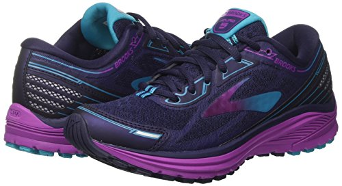 eveningblue 5 Brooks Purplecactusflower De Chaussures Multicolore Pour Training Aduro Femme qwf8xIvTw