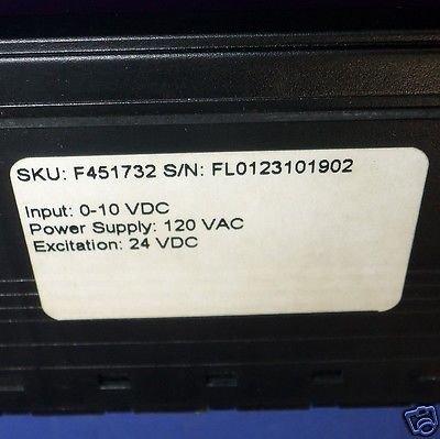 Digital Falcon Panel Meter - 120Vac Falcon F45 Series Digital Panel Meter