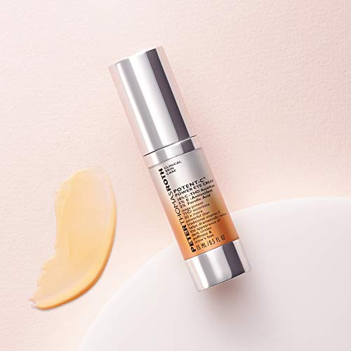 Potent-C Power Eye Cream, Brightening Vitamin C Eye Cream for Dark Circles, Puffiness and Crow's Feet